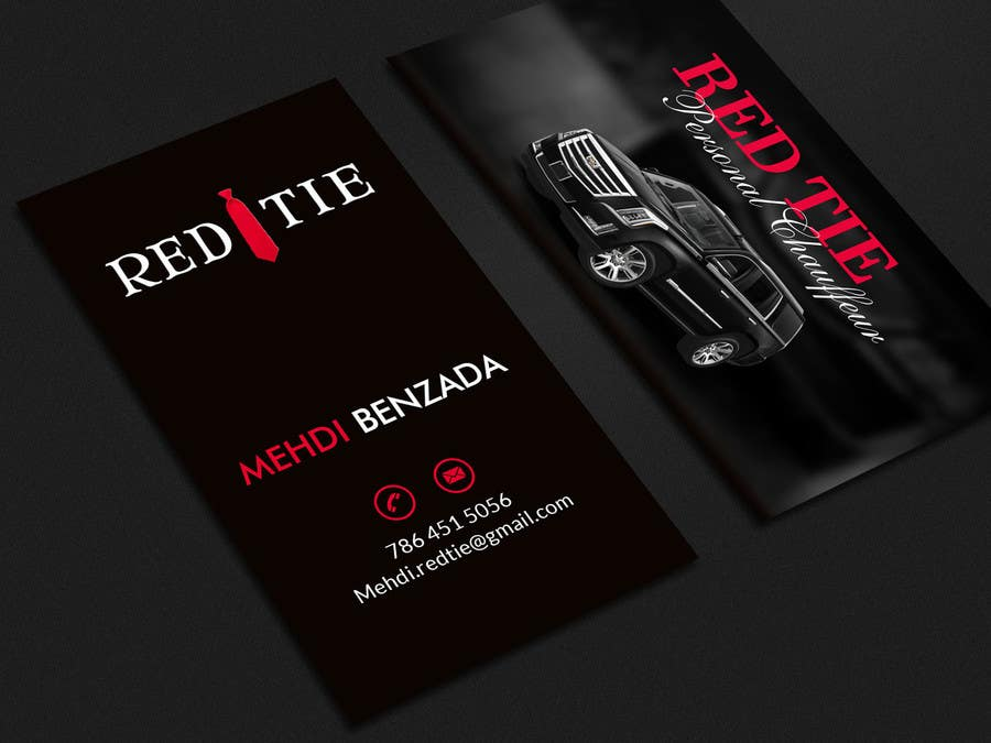 Entry #2 by mahmudkhan44 for Chauffeur business card | Freelancer