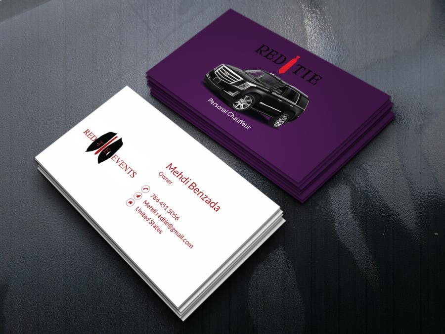 Entry #22 by dipto002 for Chauffeur business card | Freelancer