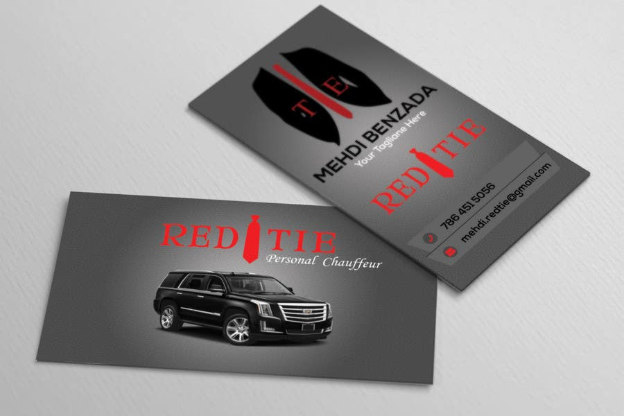 Entry #36 by tufayel9060 for Chauffeur business card | Freelancer