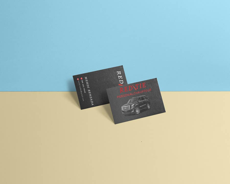 Entry #37 by jakir98 for Chauffeur business card | Freelancer