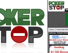 #184 cho Logo Design for PokerStop.com bởi bjandres