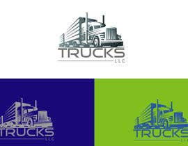 "nº 102 pour ""Trucks LLC"" Logo design par TheKing002"