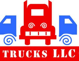 "nº 143 pour ""Trucks LLC"" Logo design par Sutanukajashu"