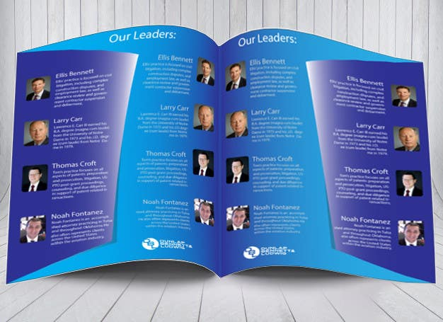 Entry  By Soumyadeb For Law Firm Brochure Pitch Book Design