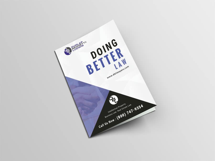 Contest Entry #8 For Law Firm Brochure/ Pitch Book Design Project