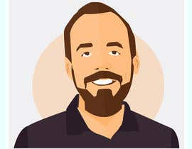 nº 3 pour Create a cartoon/illustrated image of me for use as an online avatar par sketchdom