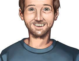nº 22 pour Create a cartoon/illustrated image of me for use as an online avatar par kamuioscuro