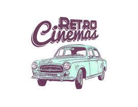 "nº 65 pour Drive in cinema branding called ""Retro Cinemas"" par seabreasy"