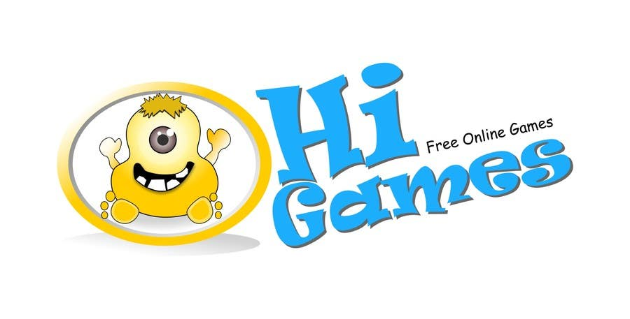 Bài tham dự cuộc thi #63 cho Logo Design for HiGames.In
