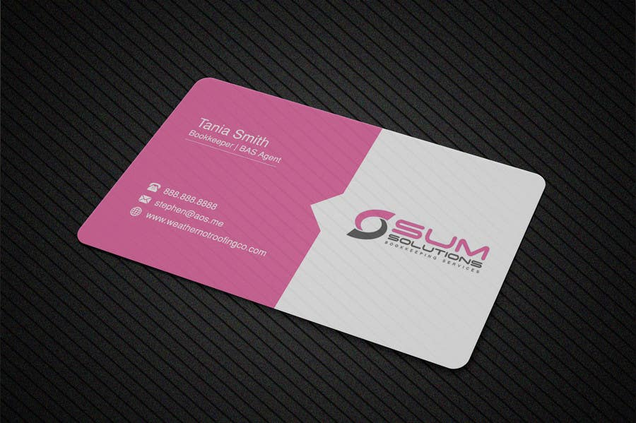 Entry #586 by tokoushik for Design some Business Cards | Freelancer