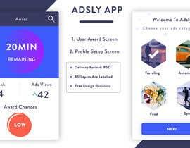 nº 7 pour Design an App Mockup - partial par yassbaat