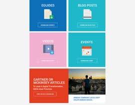 nº 18 pour Design a Website Mockup par syrwebdevelopmen