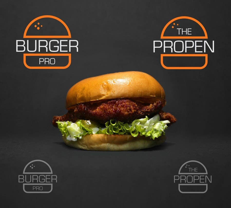Proposition n°12 du concours Design two Logos for a Burger restaurant