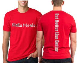 nº 22 pour Design a T Shirt for a Meal Prep Company par vectordot