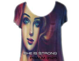 nº 46 pour Design a T-Shirt -  She is Strong par pallameena