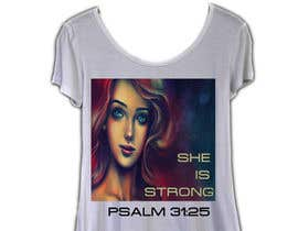 nº 47 pour Design a T-Shirt -  She is Strong par pallameena
