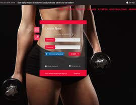 nº 12 pour I need redesign existing fitness inspiration portal par open2010