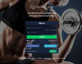 nº 6 pour I need redesign existing fitness inspiration portal par thiyagarajantks