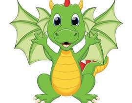 nº 3 pour Mascot logo needed! Friendly Dragon par akash24chhaparwa