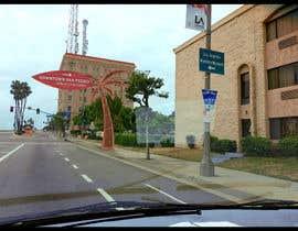 nº 11 pour Photoshop a public city sign that goes over the street par kev16lr