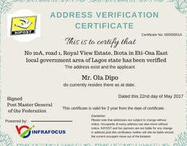 nº 8 pour Design a certificate par muhammedART