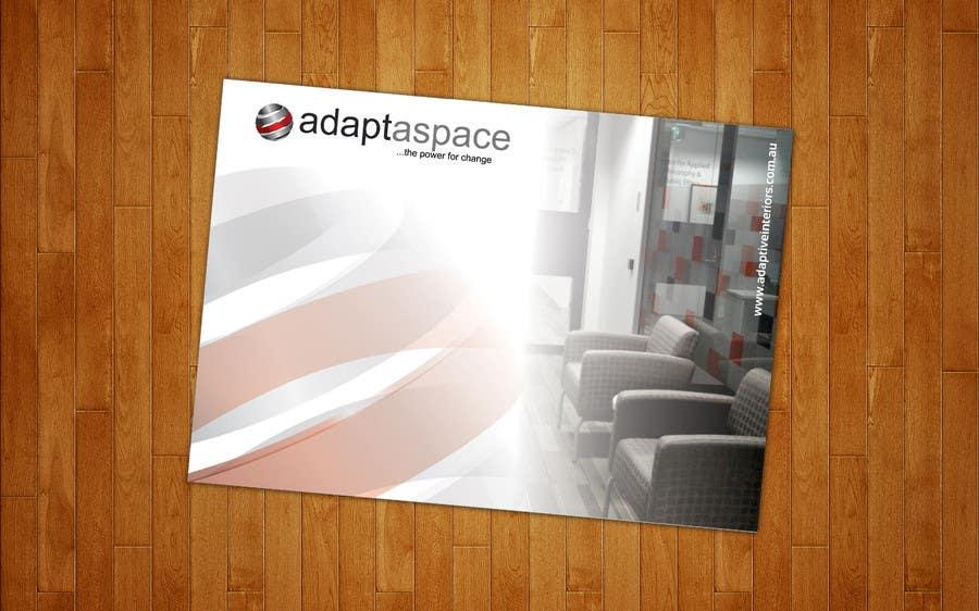 Inscrição nº 6 do Concurso para Catalogue Design for adaptaspace