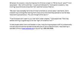 nº 6 pour Looking for a consistent copywriter. Please show me what you can do par mrconley