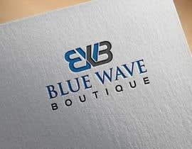 nº 346 pour Design a Logo For eCommerce Store Blue Wave Boutique par reazapple
