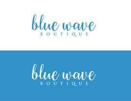 nº 352 pour Design a Logo For eCommerce Store Blue Wave Boutique par kaygraphic