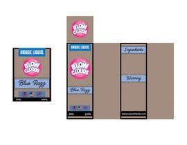 nº 18 pour Create a hip label for a E-Liquid including Logo based on a fruit candy lollipop. par lounzep