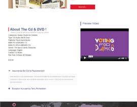 nº 12 pour Design an interactive kids website par timmokm