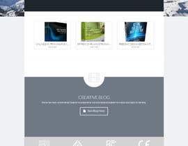 nº 2 pour Design a Website Mockup par ashwin36