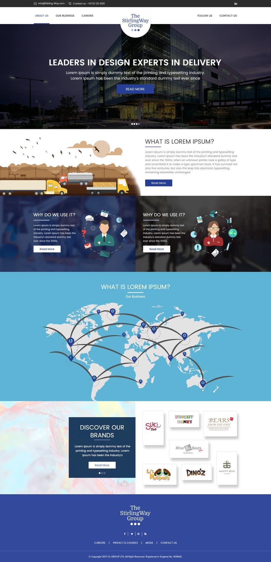 Proposition n°14 du concours home page design