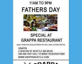 nº 25 pour Father's day at Grappa par monjumia1978