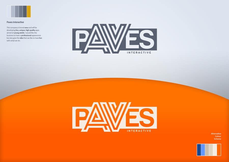 Kilpailutyö #177 kilpailussa Logo Design for Paves Interactive