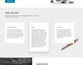 nº 36 pour Creative Website Mockup par webmastersud
