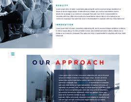 nº 34 pour Creative Website Mockup par hlo60