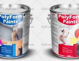 nº 7 pour Paint can label design par khuramsmd