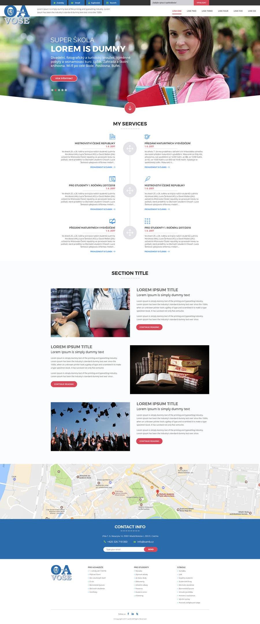 Contest Entry #                                        20                                      for                                         Design a Website Mockup