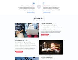 nº 22 pour Design a Website Mockup par aliul