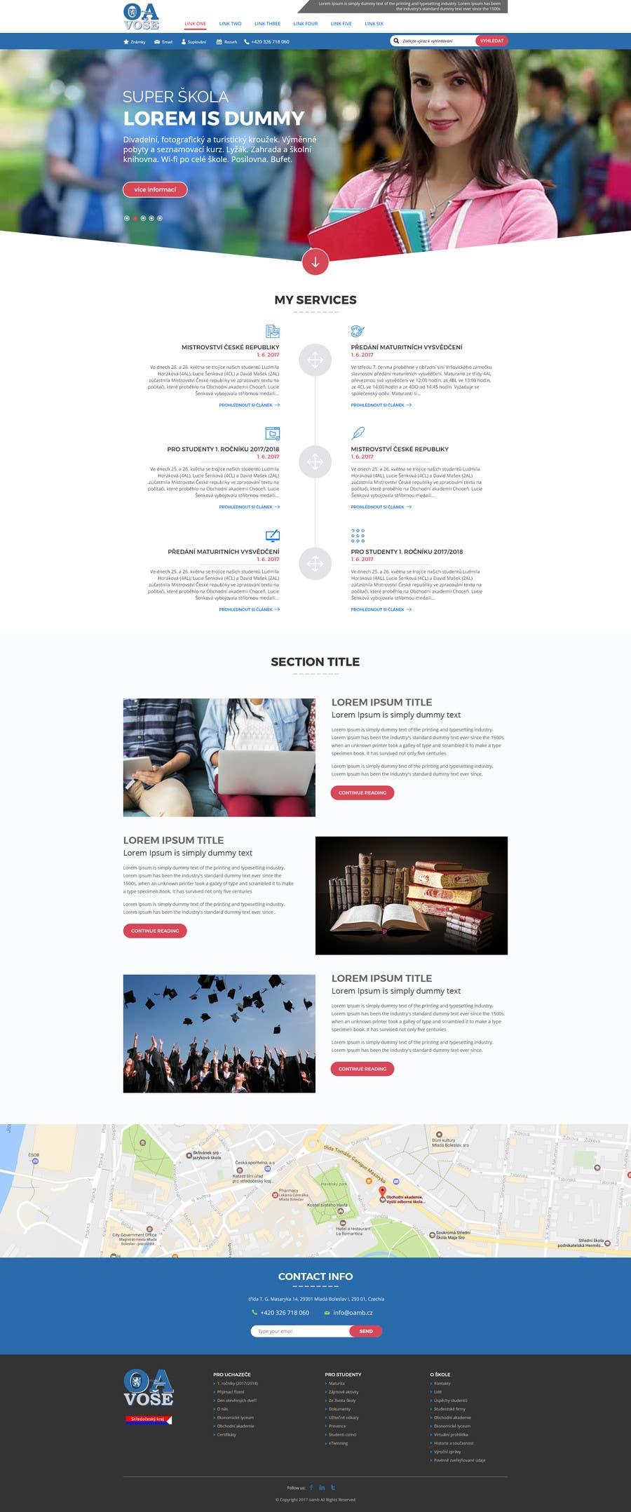 Contest Entry #                                        23                                      for                                         Design a Website Mockup