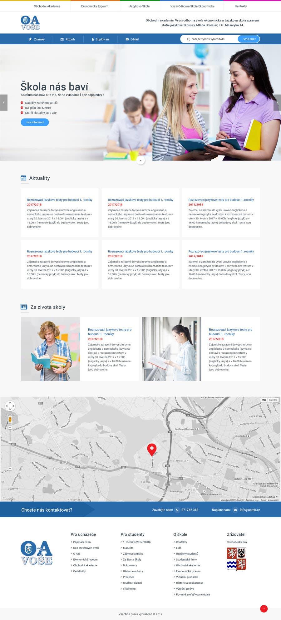 Contest Entry #                                        6                                      for                                         Design a Website Mockup
