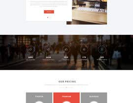 nº 29 pour I would like to hire a Graphic Designer to build a template for a very simple website par dipankarpatar