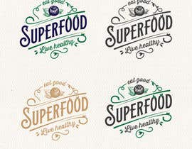 nº 84 pour Logo for a superfood store par Alinawannawork