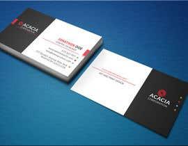 nº 855 pour Design some Business Cards par monira405