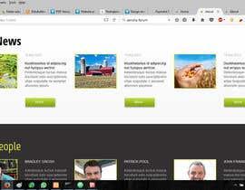nº 3 pour Website design par konservasi