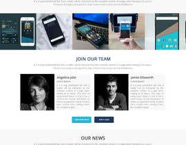 nº 19 pour Website design par happyzee
