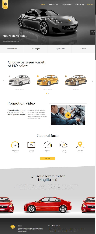 Proposition n°12 du concours Website design