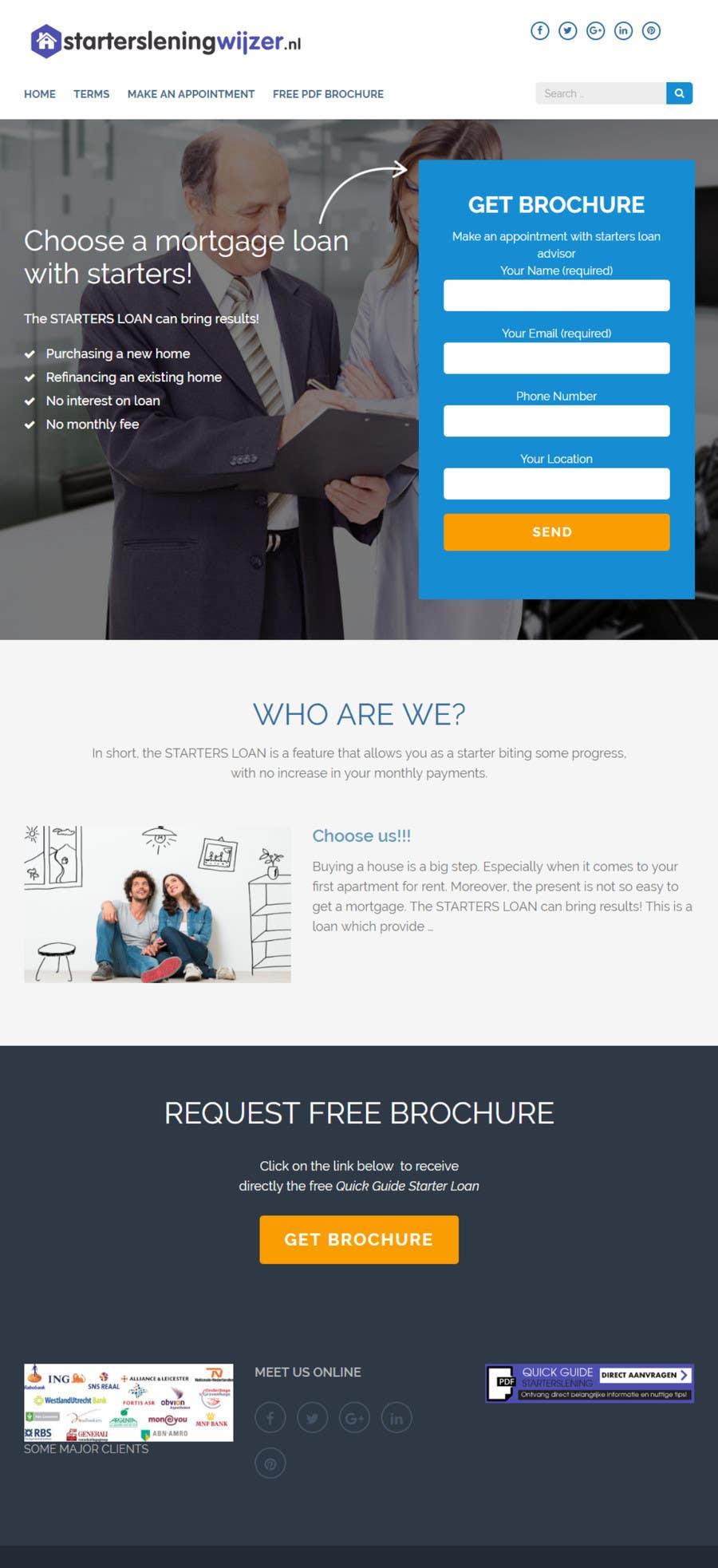 Proposition n°13 du concours Website design