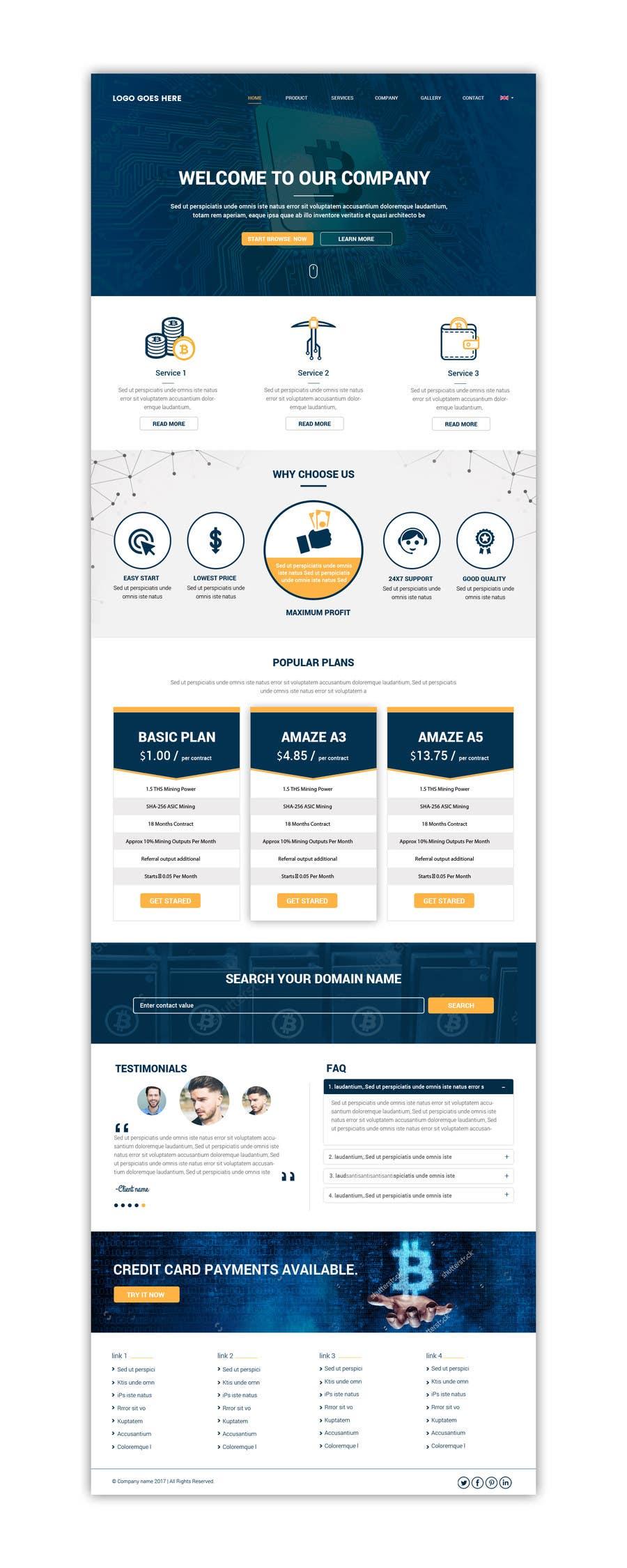 Proposition n°16 du concours Website design
